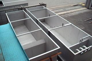 水処理設備向け水槽