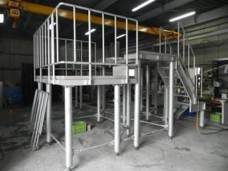 ステンレス製ステージ架台